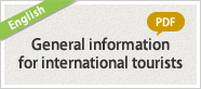 General information for international tourists (PDF)