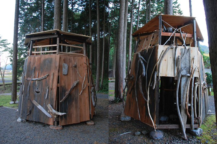 ツリーハウス<流木砦>