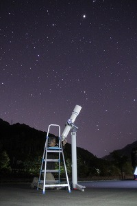 夜空観察会【オリオン大星雲】 @ キャンプinn海山 | 北牟婁郡 | 三重県 | 日本