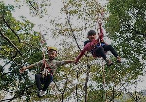 ツリーイング~木に登ろう!~ @ キャンプinn海山場内 | 北牟婁郡 | 三重県 | 日本