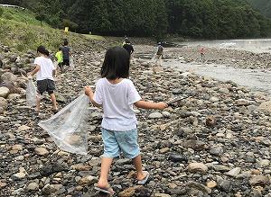銚子川クリーンクリーンデイ(変更) @ キャンプinn海山周辺の河原 | 北牟婁郡 | 三重県 | 日本